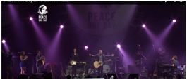 Peace One Day concert